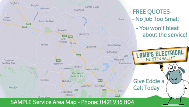 Hunter Valley Electrician - Lamb's Electrical Hunter Valley